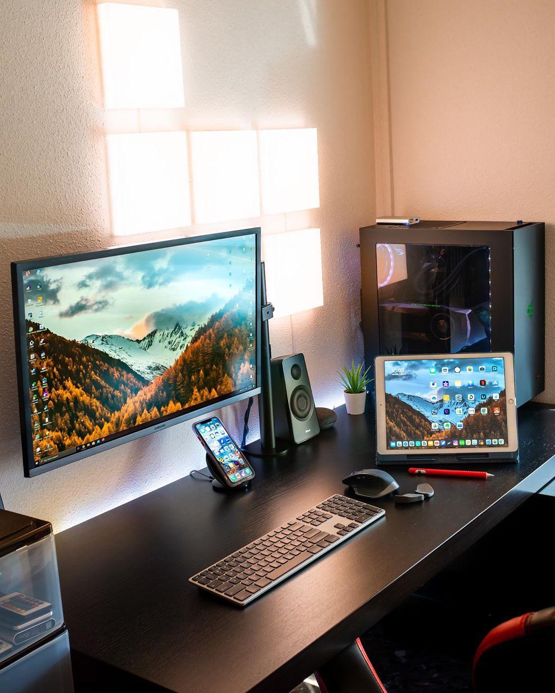 Multi-device work station