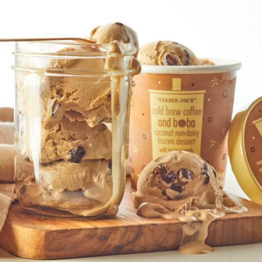 cold brew coffee frozen dessert