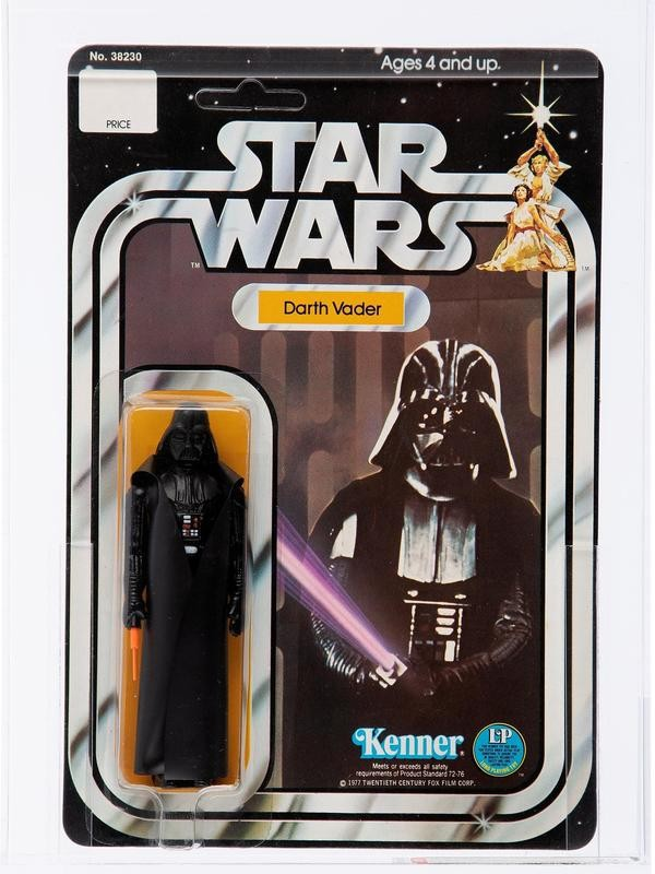 Darth Vader With Telescoping Lightsaber