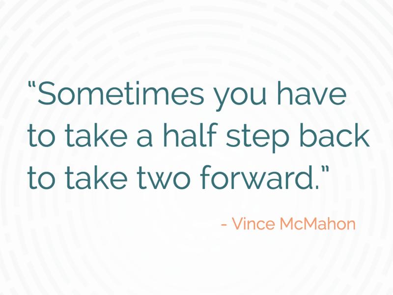 Vince McMahon Quote
