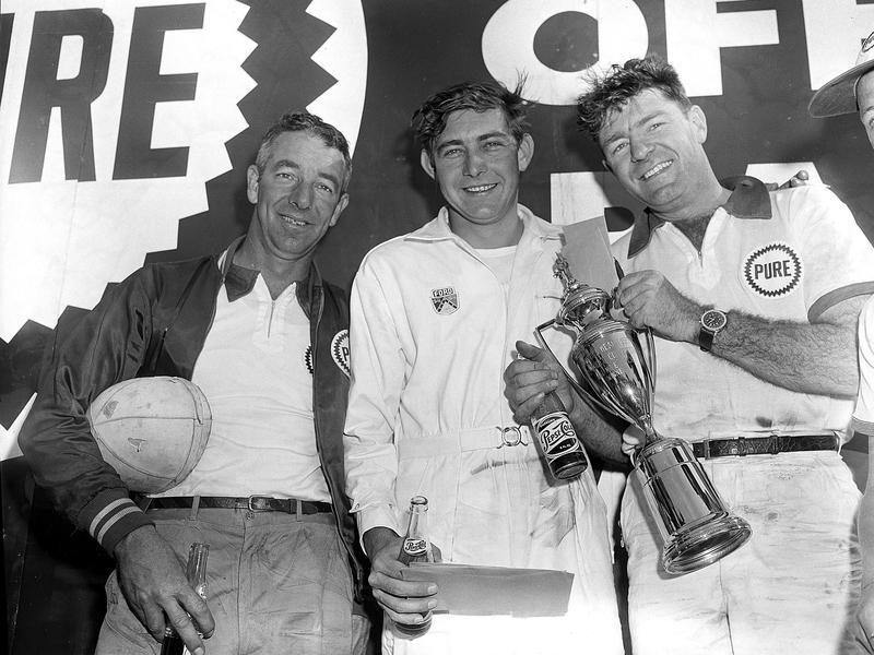 Herb Thomas,Glenn Roberts, Curtis Turner