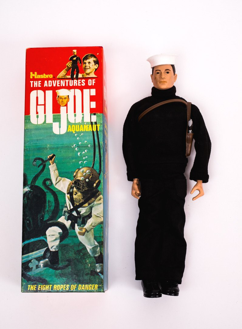 G.I. Joe Aquanaut With Original Box