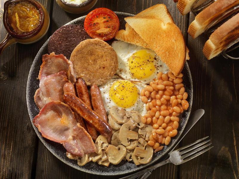 Full traditional English breakfast