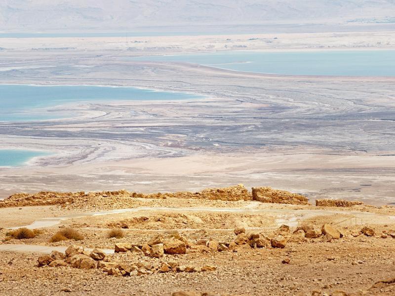 Dead Sea drying