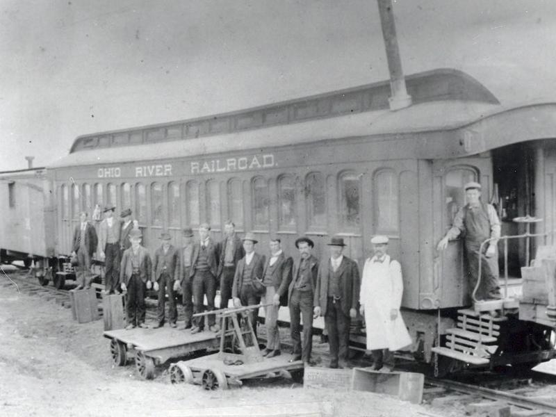 1827 Ohio River Railroad