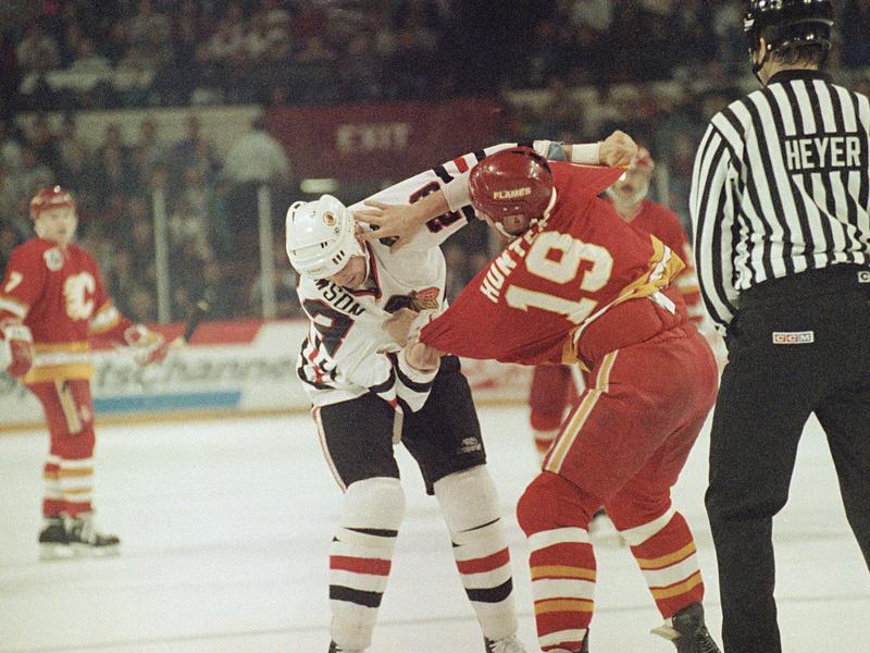 Calgary Flame Tim Hunter