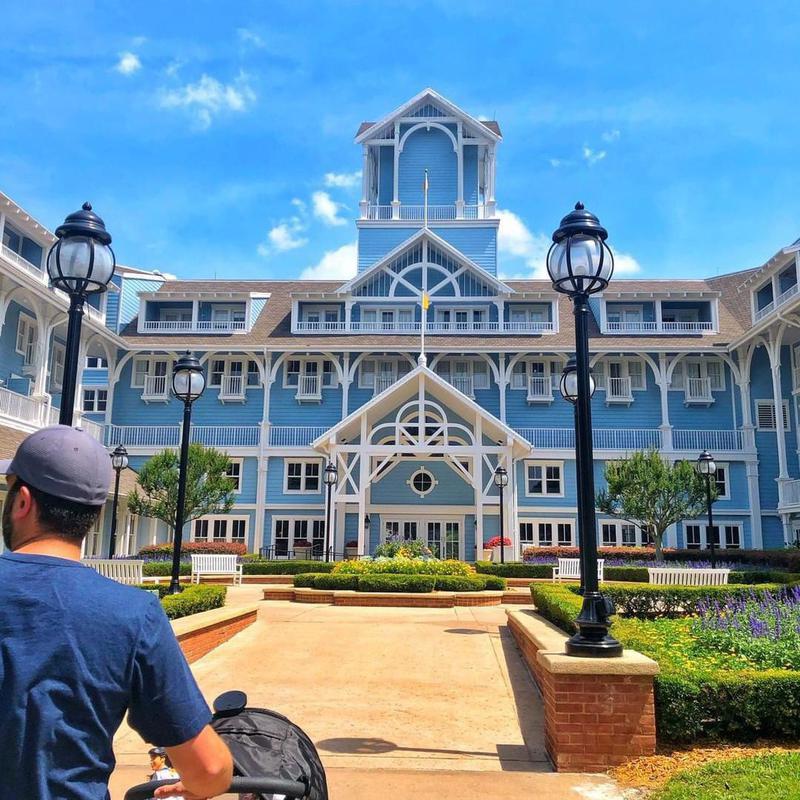 Exterior of Disney's Beach Club Villas
