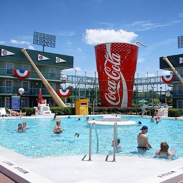 Pool at Disney's All-Star Sports Resort