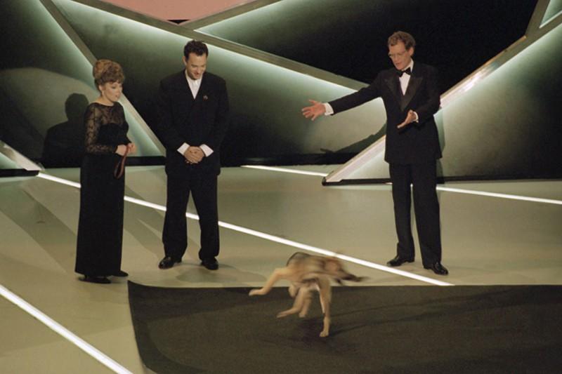 David Letterman dog tricks