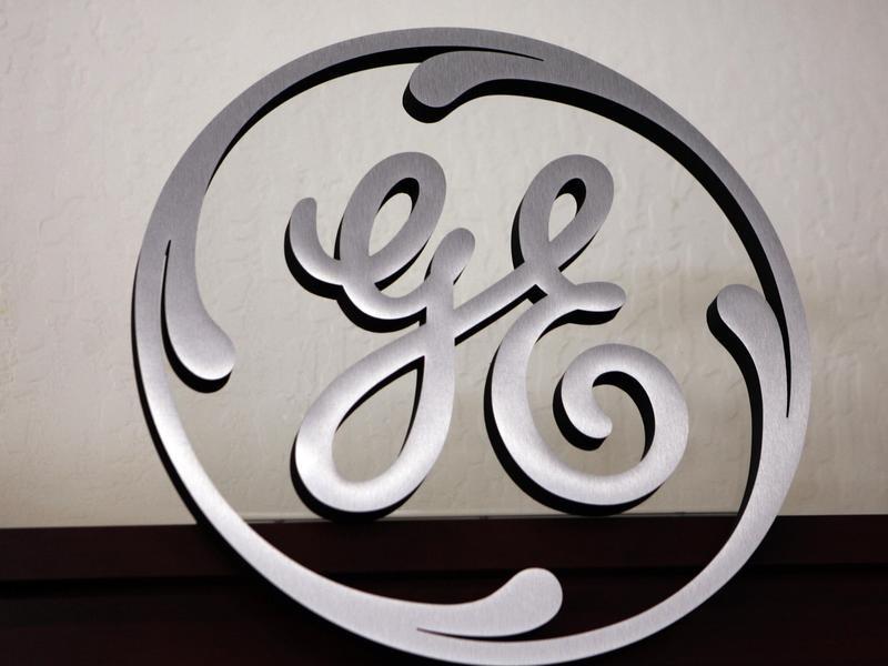 GE sign