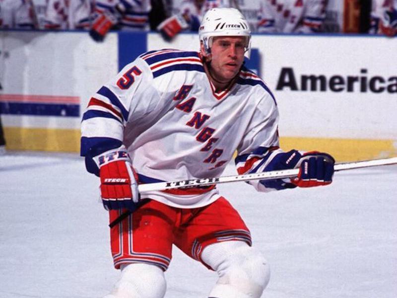 New York Rangers defenseman Ulf Samuelsson