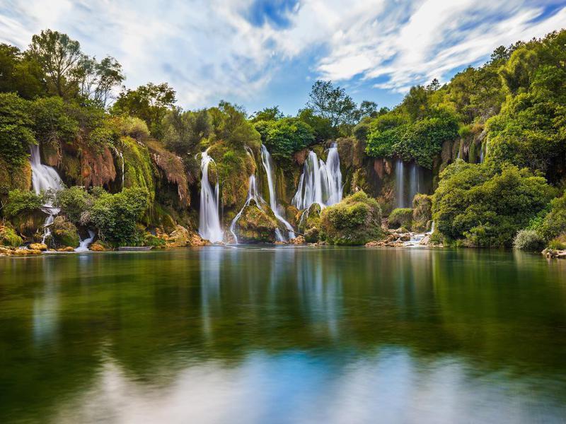 Kravice Waterfalls in Bosnia and Herzegovina