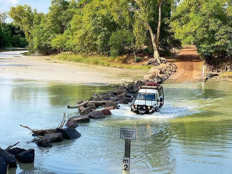 East Alligator River in Australia