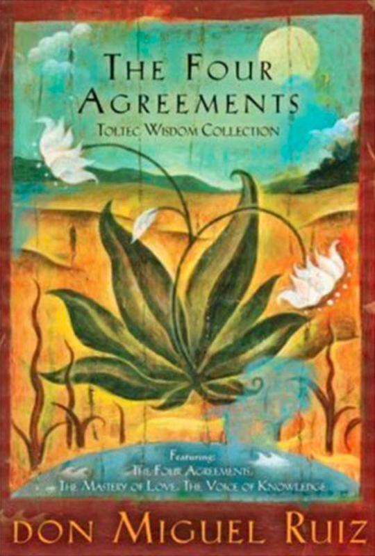 """""""The Four Agreements"""" by Don Miguel Ruiz and Janet Mills"""