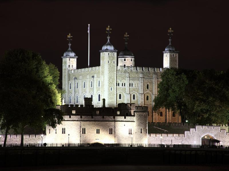 Tower Of London At Night