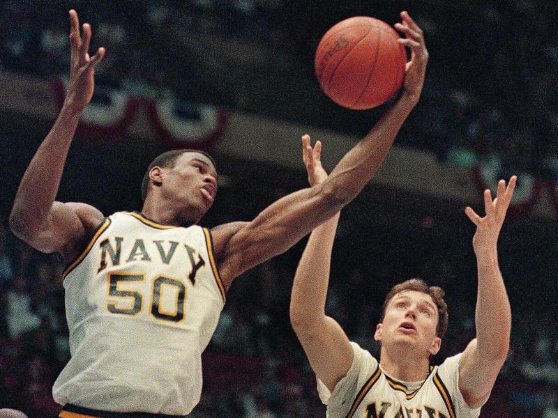 David Robinson in 1986