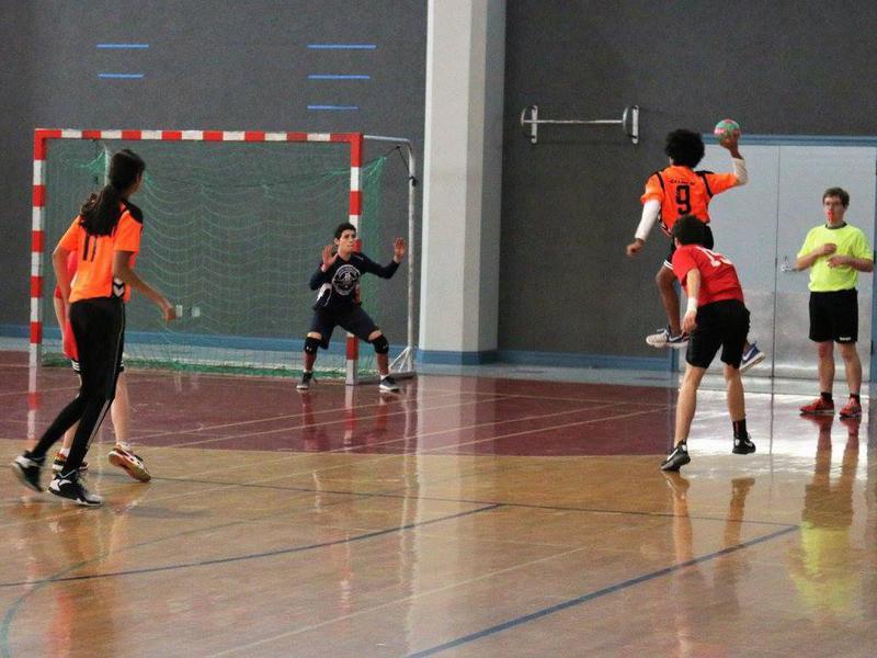Junior high handball
