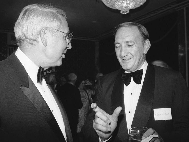 Bobby Thomson and Ralph Branca