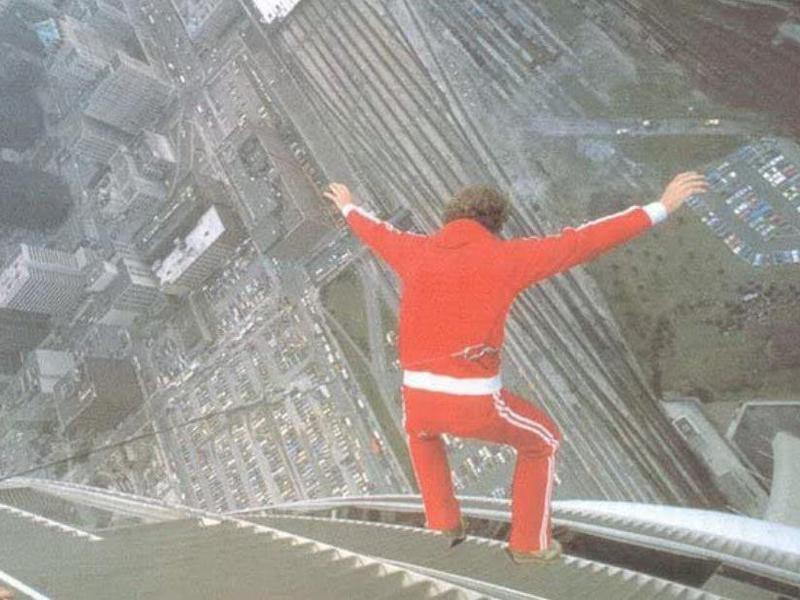 Billy Score's Free Fall From a 220-Foot Building