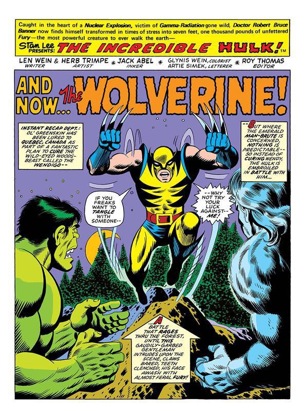 Wolverine first apperance