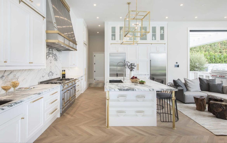 LeBron's kitchen