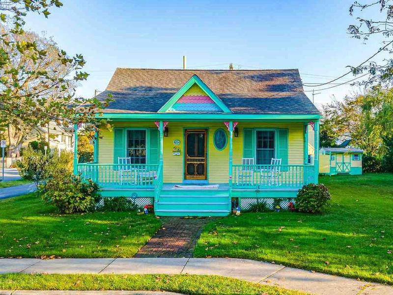 Colorful cottage home