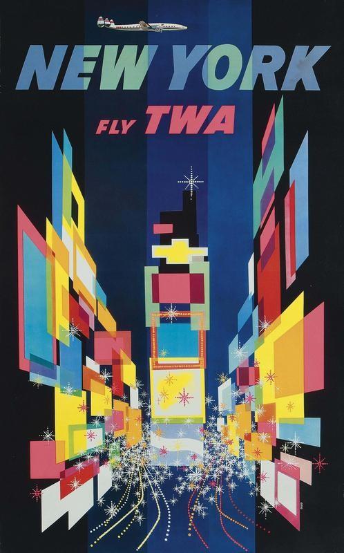 TWA ad in 1960