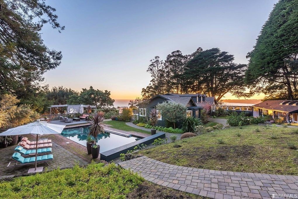 Jerry Garcia's house in Stinson Beach, California