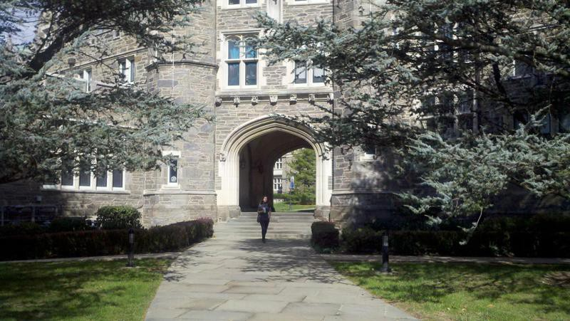 Rockefeller Hall at Bryn Mawr College