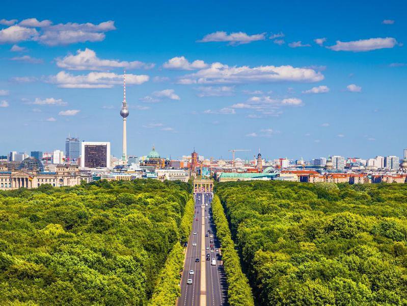 Tiergarten park, Berlin, Germany