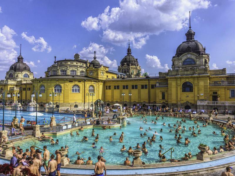 Szechenyi Baths, Budapest