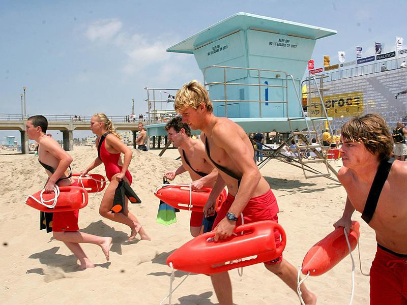 Lifeguards in Training