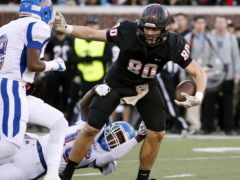 St. Stanislaus tight end Chase Rogers