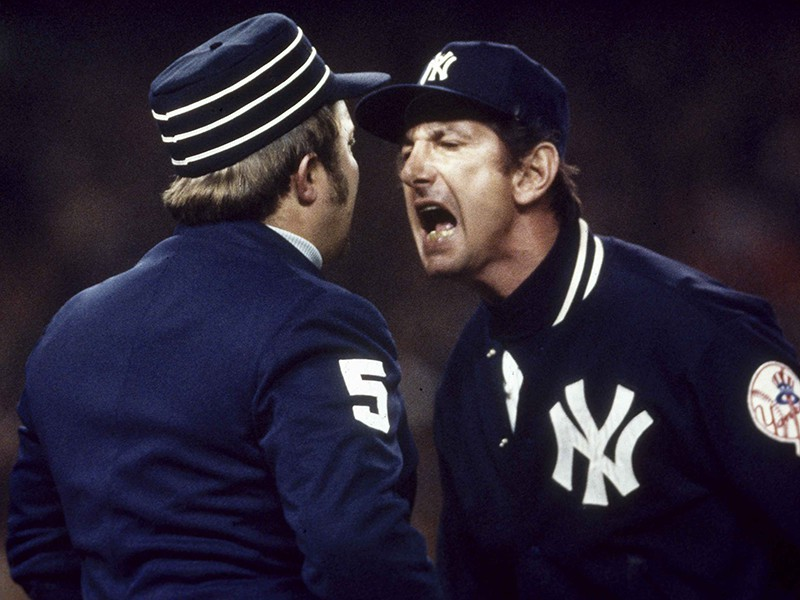 Billy Martin and Bruce Froemming