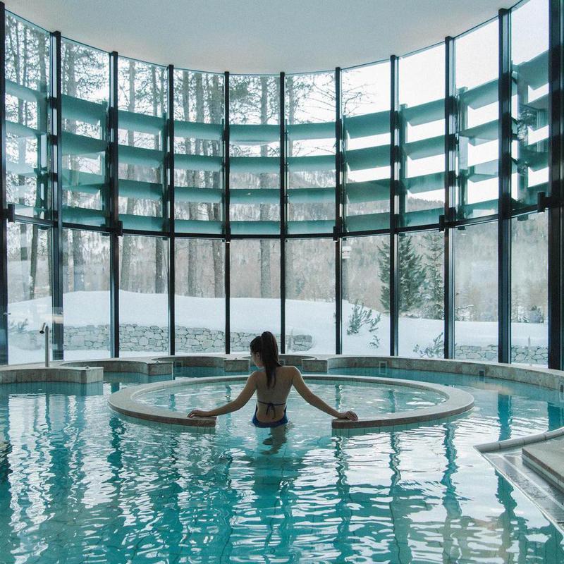 Snowy Retreat  in Switzerland