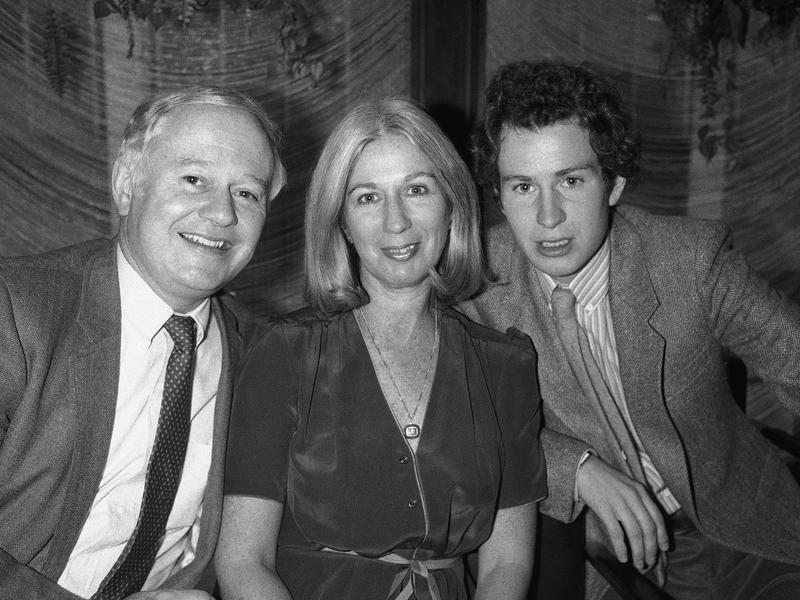 John McEnroe with parents