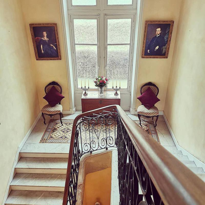Château de Bourneau interior