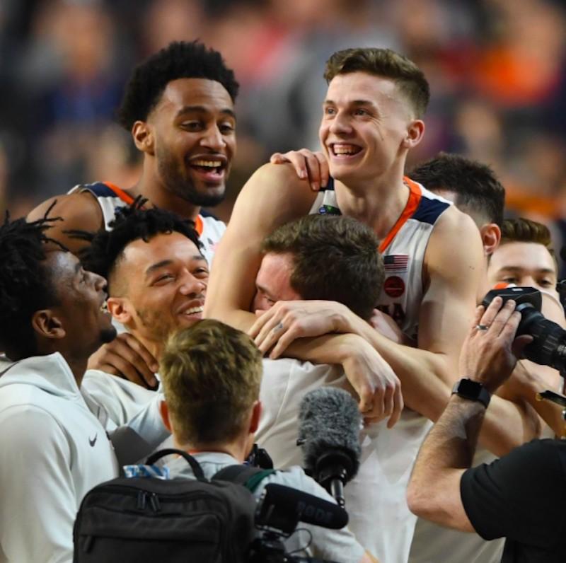 Virginia Cavaliers celebrate