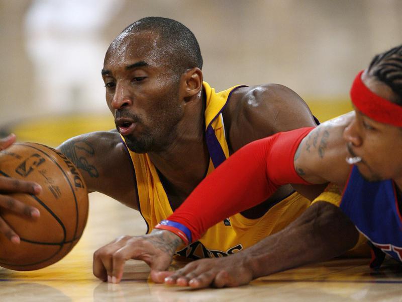 Los Angeles Lakers guard Kobe Bryant