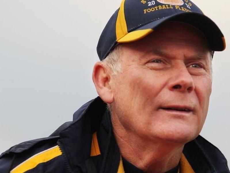 St. Ignatius head coach Chuck Kyle