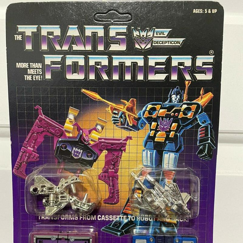 Ratbat and Frenzy Transformer tapes