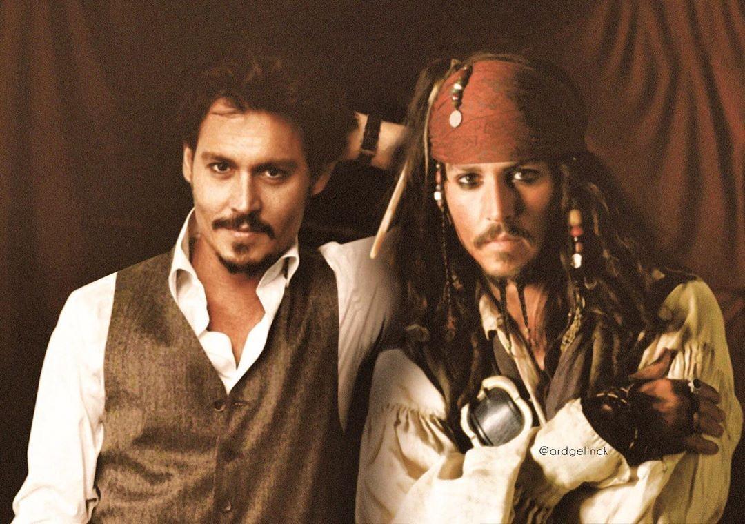 Johnny Depp and Jack Sparrow
