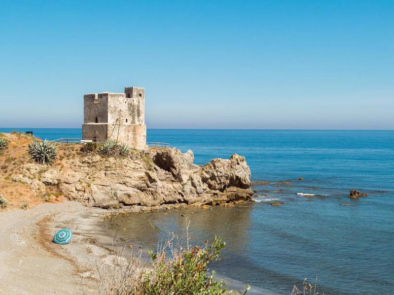 Bay in Casares, Spain