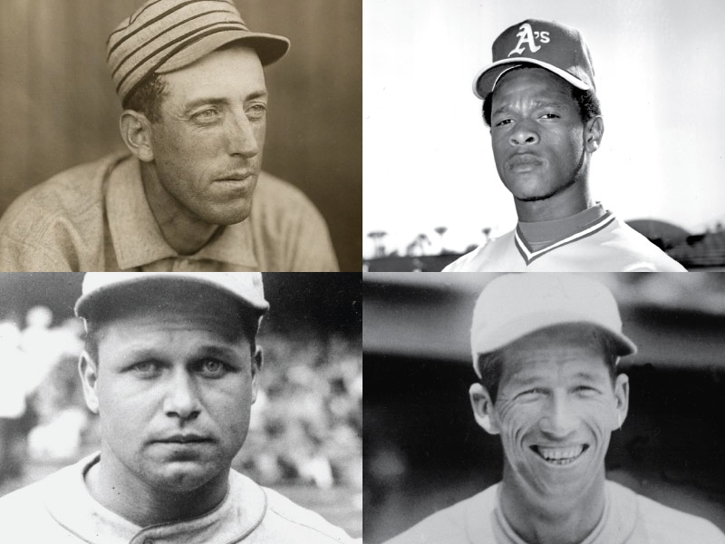 Philadelphia/Kansas City/Oakland Athletics Mount Rushmore