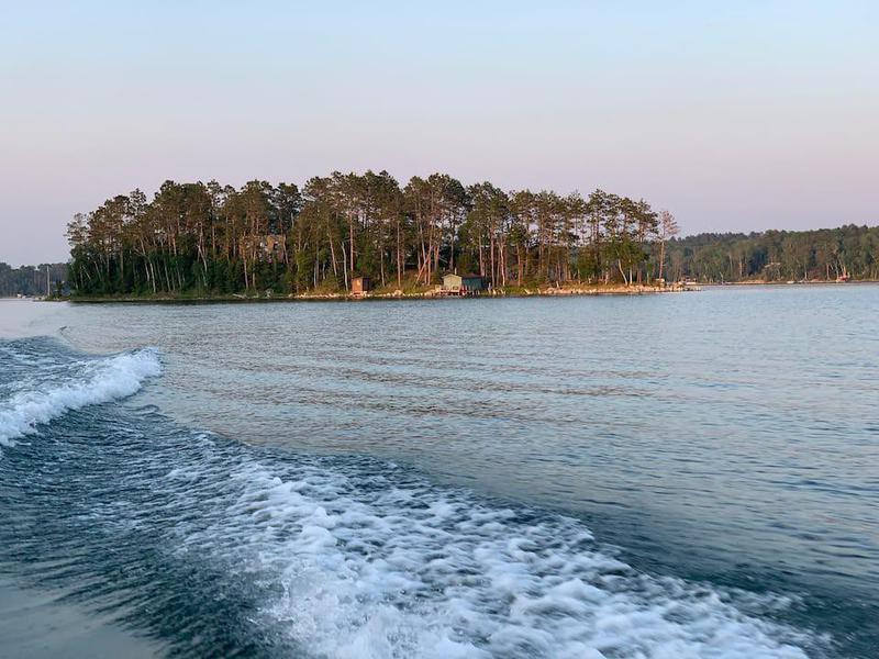 Private Island on Bad Medicine Lake