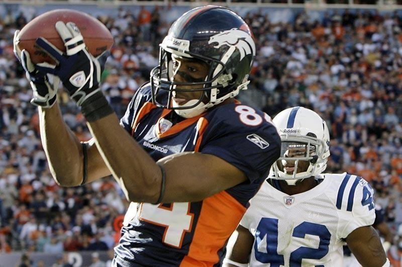 Denver Broncos wide receiver Javon Walker in 2006