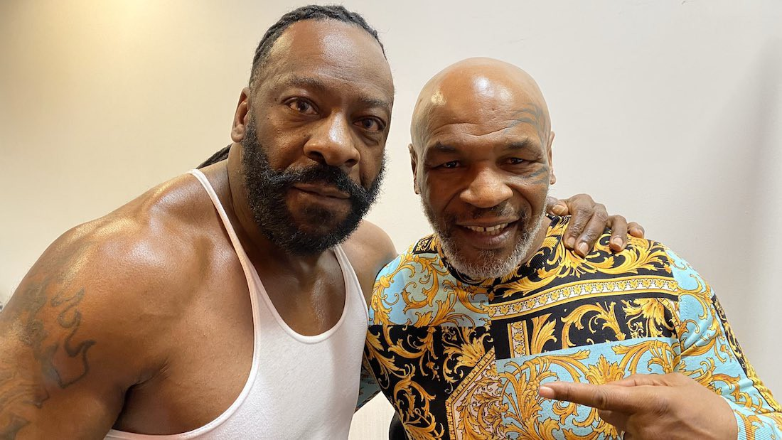 Booker T and Mike Tyson