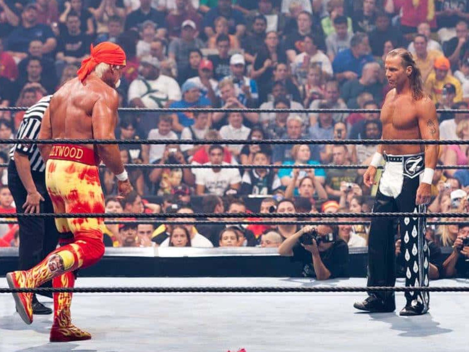 Hulk Hogan vs. Shawn Michaels at SummerSlam