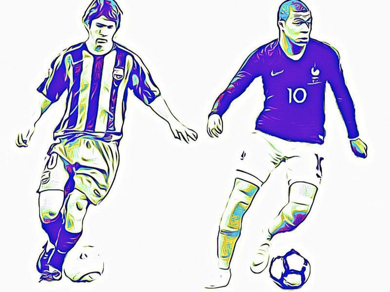 Messi vs. Mbappe