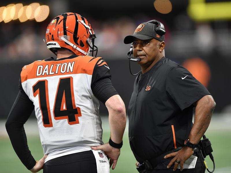 Marvins Lewis and Andy Dalton